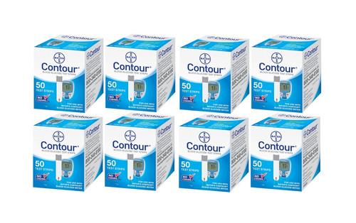Ascensia Bayer Contour 400 Test Strips For GLucose Care