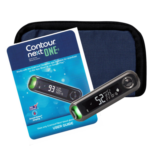 Ascensia Contour Next ONE Bluetooth Meter Only For GLucose Care