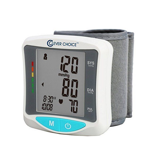 Clever Choice Fully Auto Wrist Talking Blood Pressure Monitor SDI-2086WT