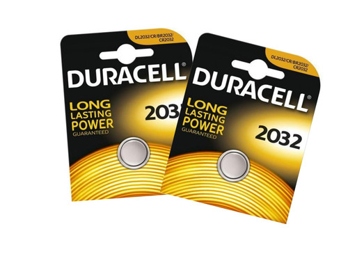 Duracell Cr2032 Lithium Battery [2 pack] For Diabetic Meter