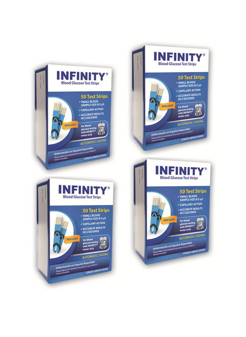 Infinity 200 Test Strips For GLucose Care