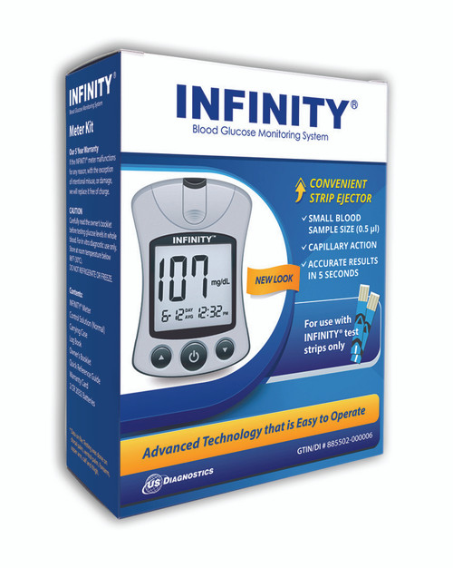 Infinity Glucose Meter Kit For GLucose Care