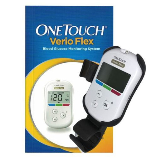 OneTouch Verio Flex Glucose Meter Only For GLucose Care