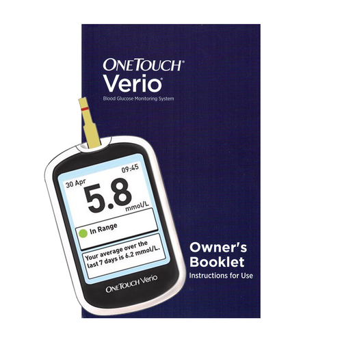 OneTouch Verio Glucose Meter Only For GLucose Care