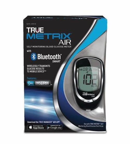 TRUE Metrix AIR Blood Glucose Meter kit For GLucose Care