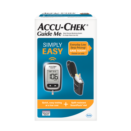 Accu-Chek Guide Me Blood  Glucose Monitor