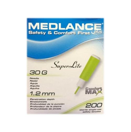 Medlance Plus Safety Lancet 30G (100 Count) HT7242