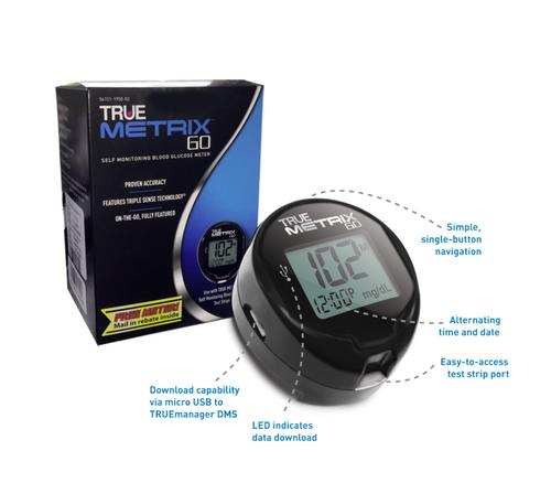 TRUE METRIX GO Self Monitoring Blood Glucose System