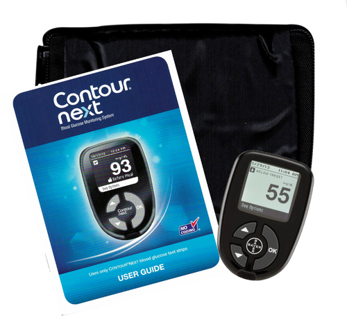 Bayer Contour Next Glucose Blood Glucose Meter Only W/O BOX