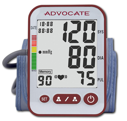 Advocate Arm Blood Pressure Monitor  with Large Cuff