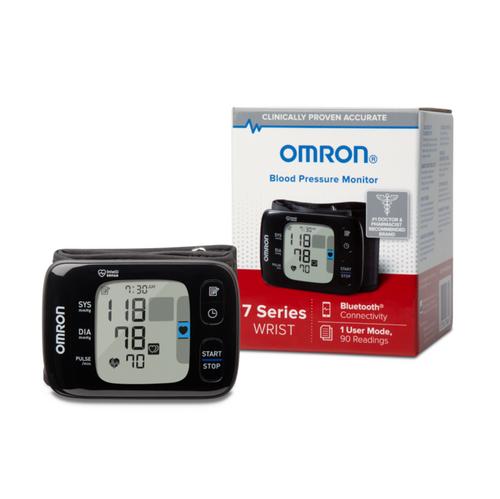 Omron 7 Series  Wireless Wrist Blood Pressure Monitor, 3.6'' x 0.5'' x 2.5'' - 73BP6350
