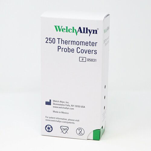 Welch Allyn Thermometer Probe Cover SureTemp  250ct ( 05031 )
