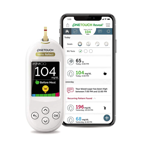 OneTouch Verio Reflect Bluetooth Glucose Monitoring System