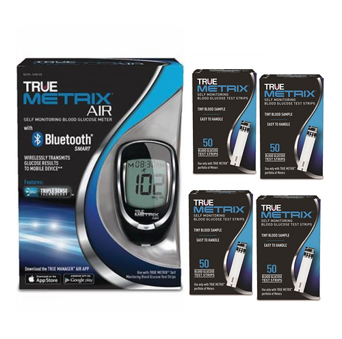 TRUE METRIX AIR Meter Starter Kit with 200 Test strips