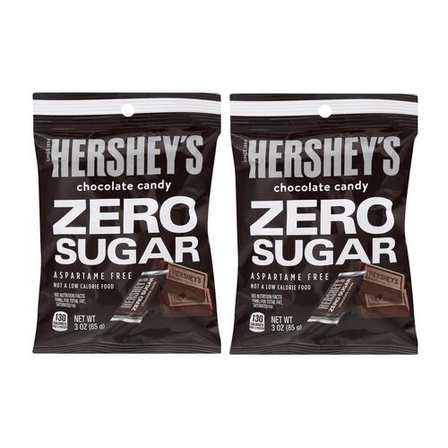 Hersheys Sugar Free Chocolates - [ 2 Pack ]