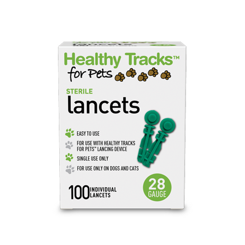 Healthy Tracks 28 G Lancet