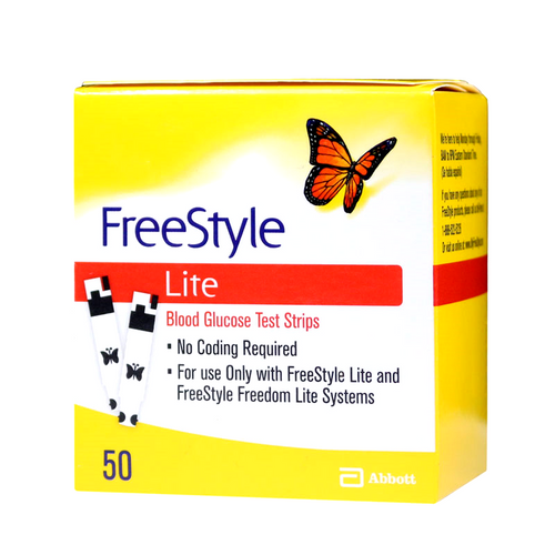 ABBOTT FreeStyle Lite 50 Test Strips