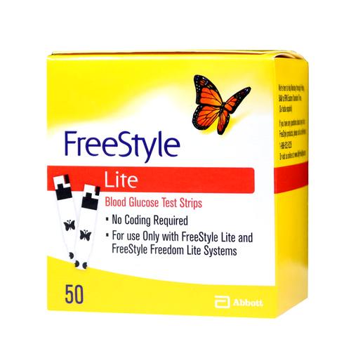 ABBOTT FreeStyle Lite 50 Test Strips