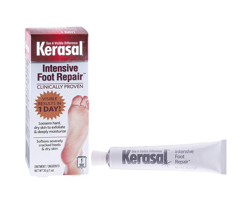 Kerasal Exfoliating Foot Moisturizer Ointment 30g For GLucose Care