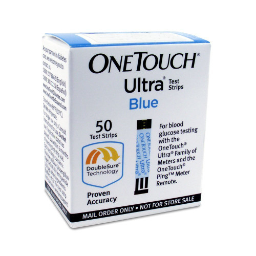 OneTouch Ultra Blue 50 Test Strips For GLucose Care