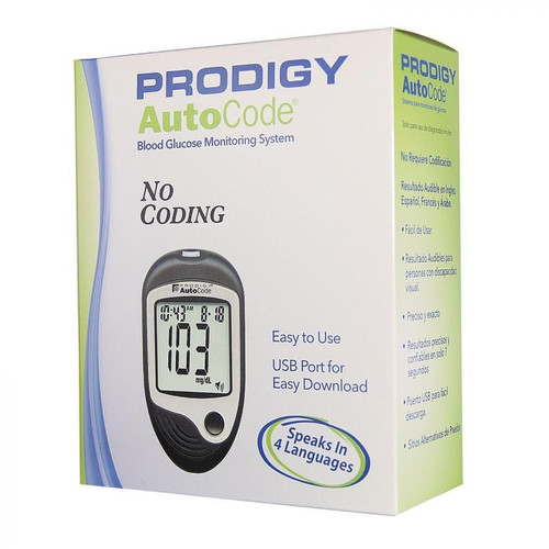 Prodigy Autocode Talking Meter For GLucose Care