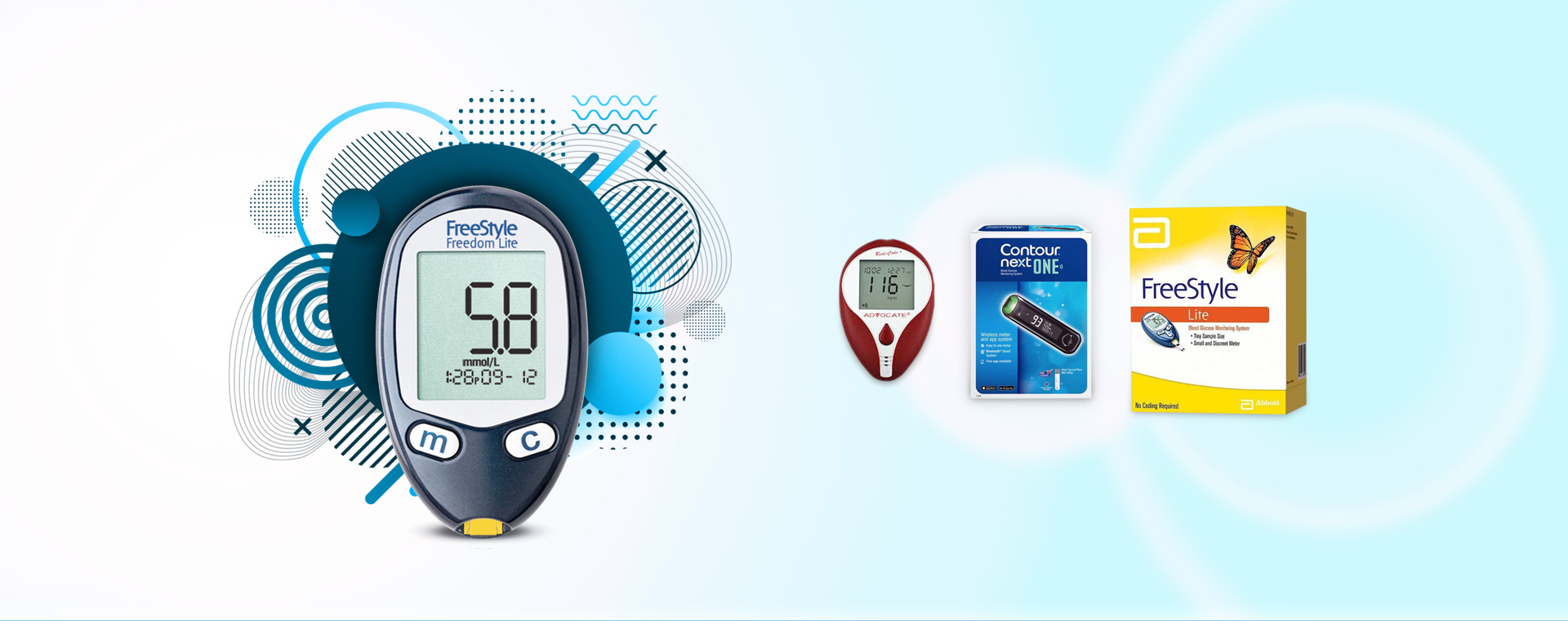 Abbott Freedom Lite discount diabetic supplies online store| medical supply corner