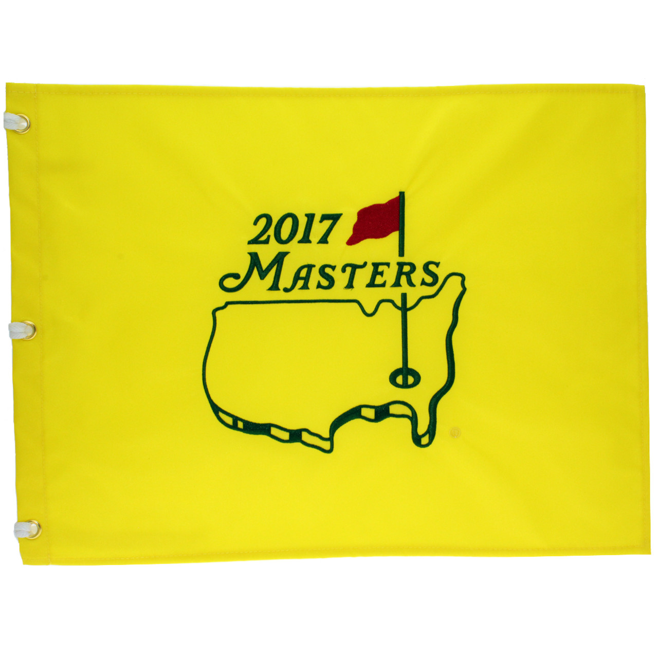 a108c62b8d5 2017 Masters Embroidered Golf Pin Flag - 2017 Dated Masters Pin Flags