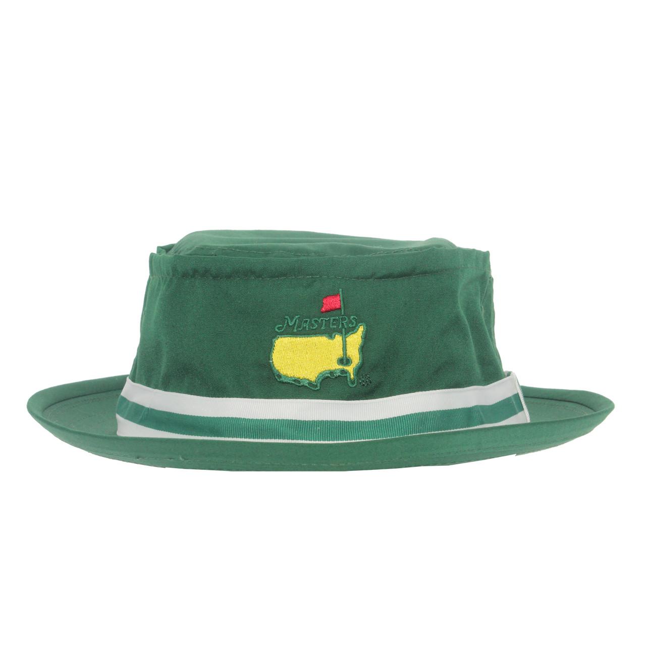 37e8be868f0 Masters Green Bucket Hat - Masters Hats   Visors