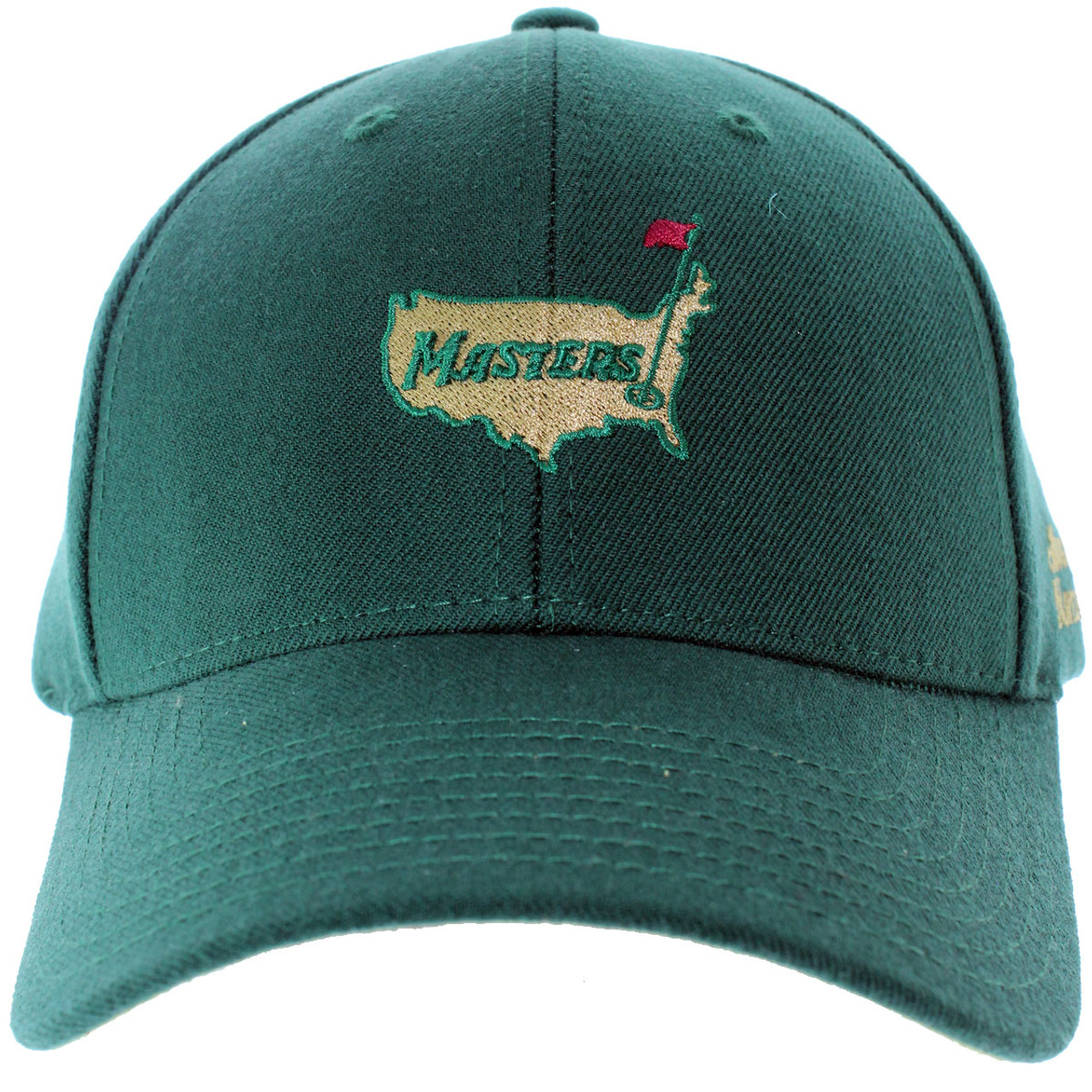 0b3e280419e Masters Green Wool Structured Augusta National Hat - MMO Golf