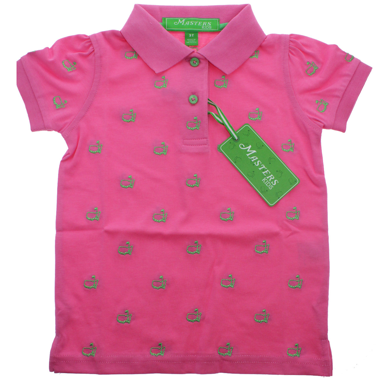 051e37cd Masters Pink Toddler Polo Shirt