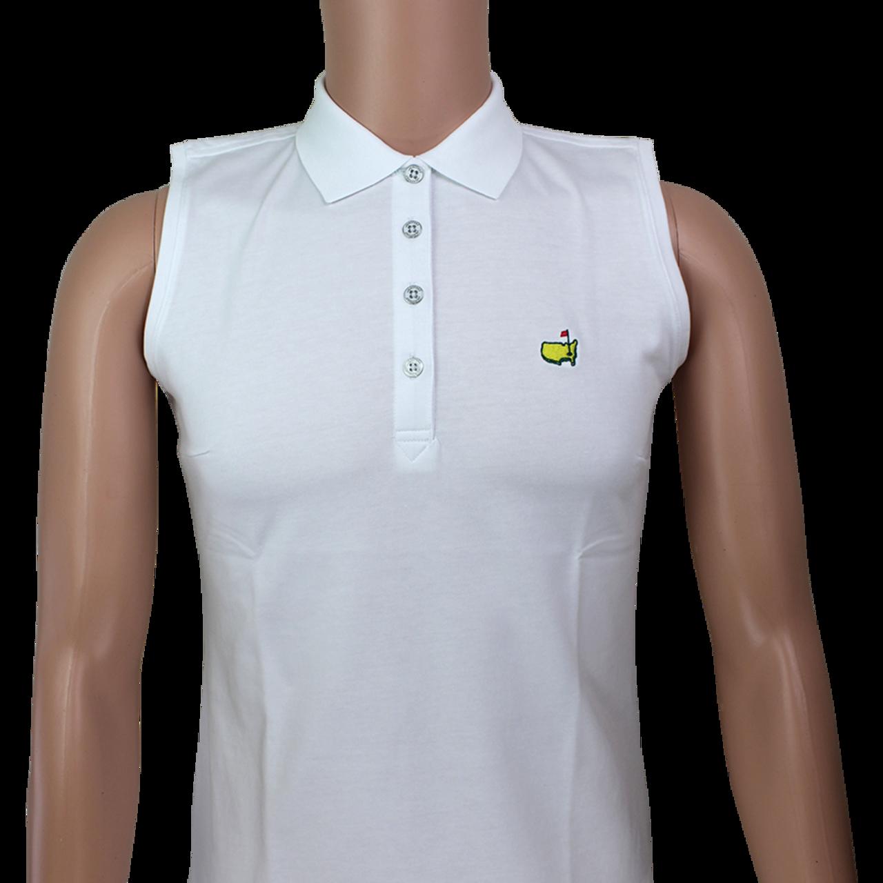 c872c4ae Masters Magnolia Lane Ladies Performance Tech Sleeveless Golf Shirt