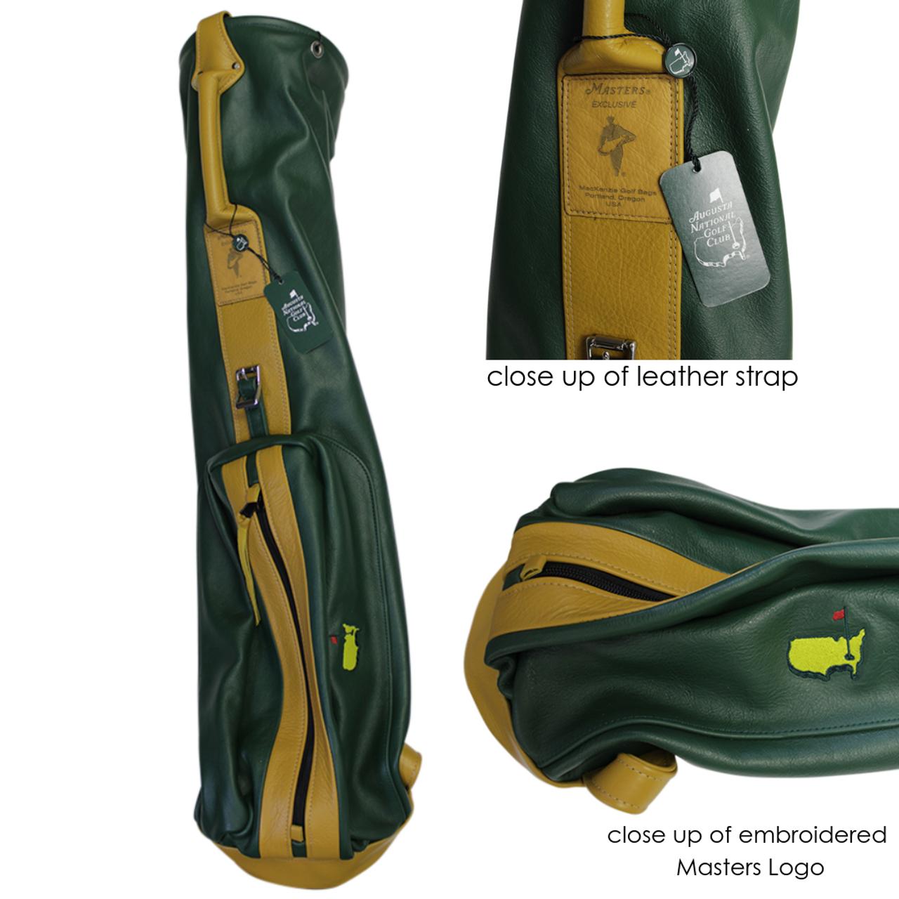 3f3a3508fbc MacKenzie Masters Exclusive Leather Golf Bag