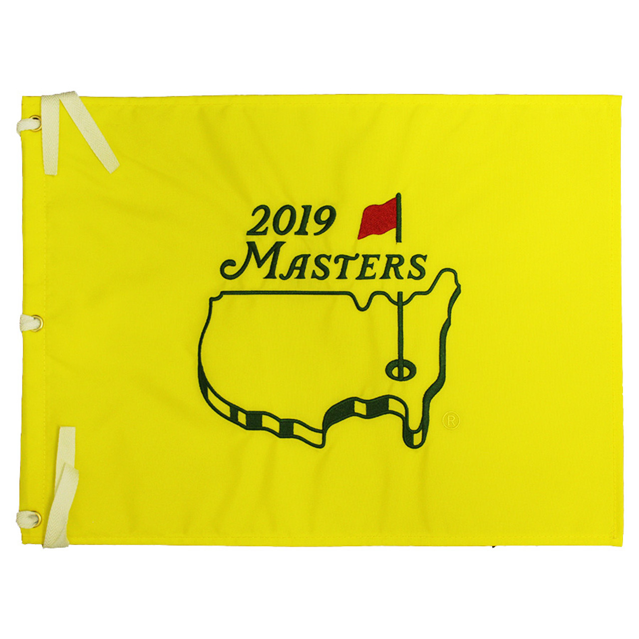 a38b87835 2019 Masters Embroidered Golf Pin Flag - 2019 Dated Masters Pin Flags