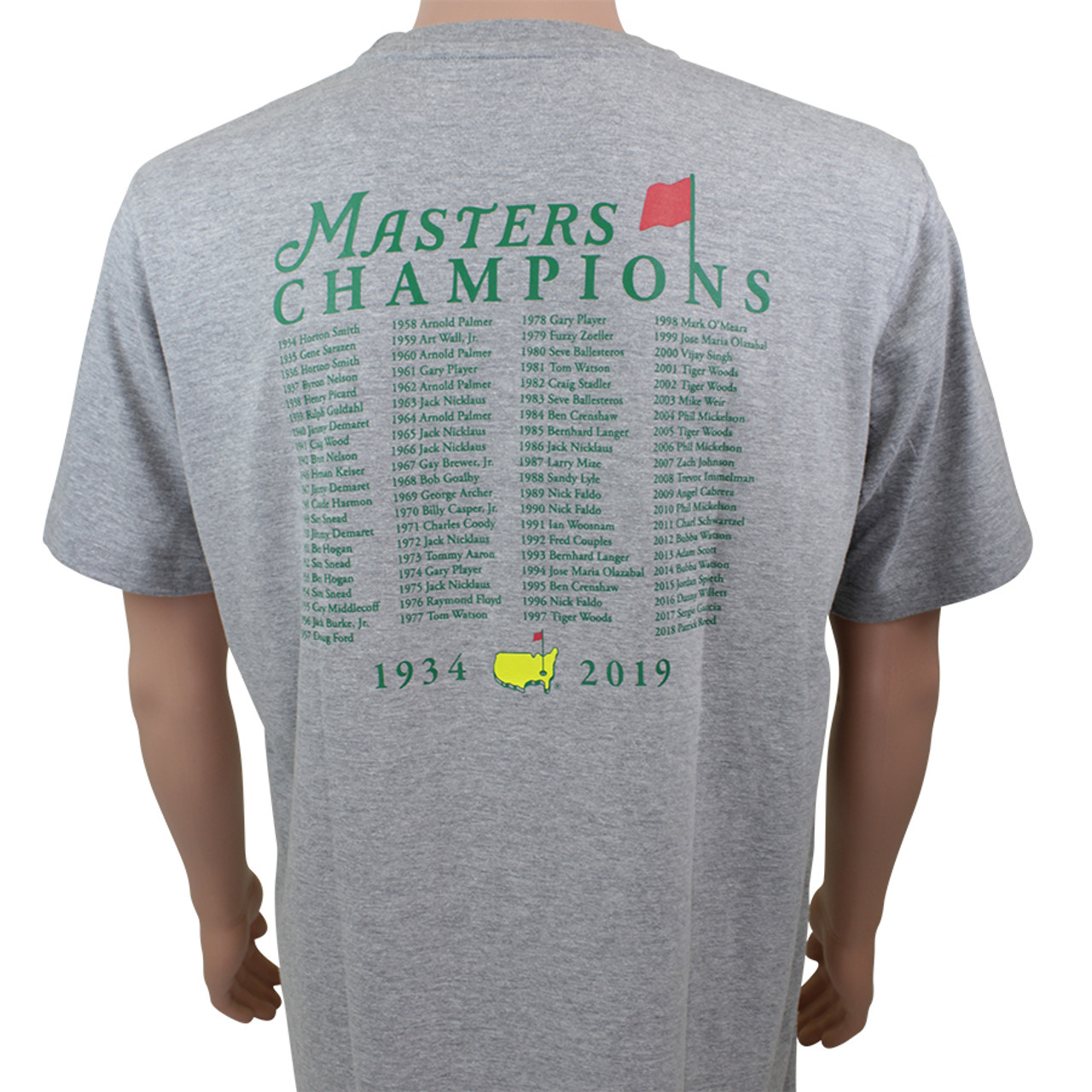 a4e694f77c0b 2019 Masters Champions T Shirt in White - Masters Windshirts ...
