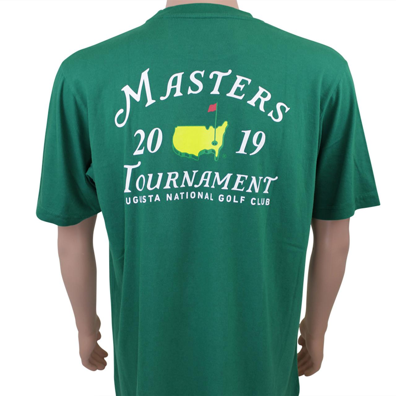 dee83aa294d 2019 Masters Green Small Logo T-shirt - Masters Tournament Specials