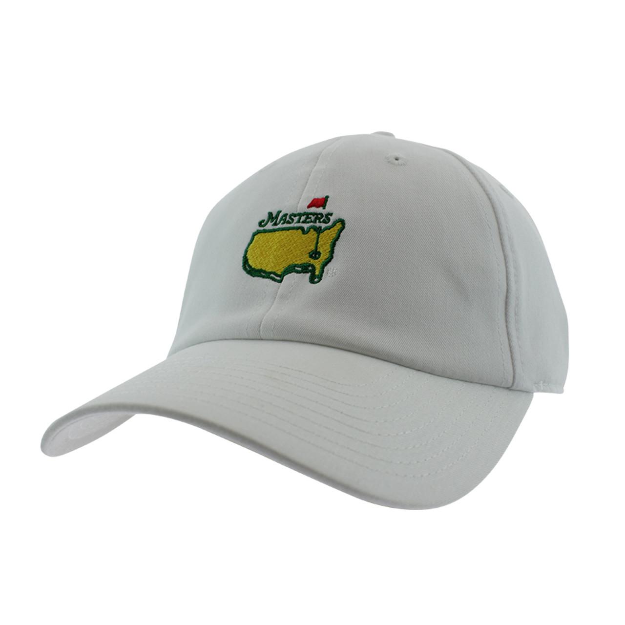 e3a27950 Masters New Hybrid Tech Caddy Hat- White