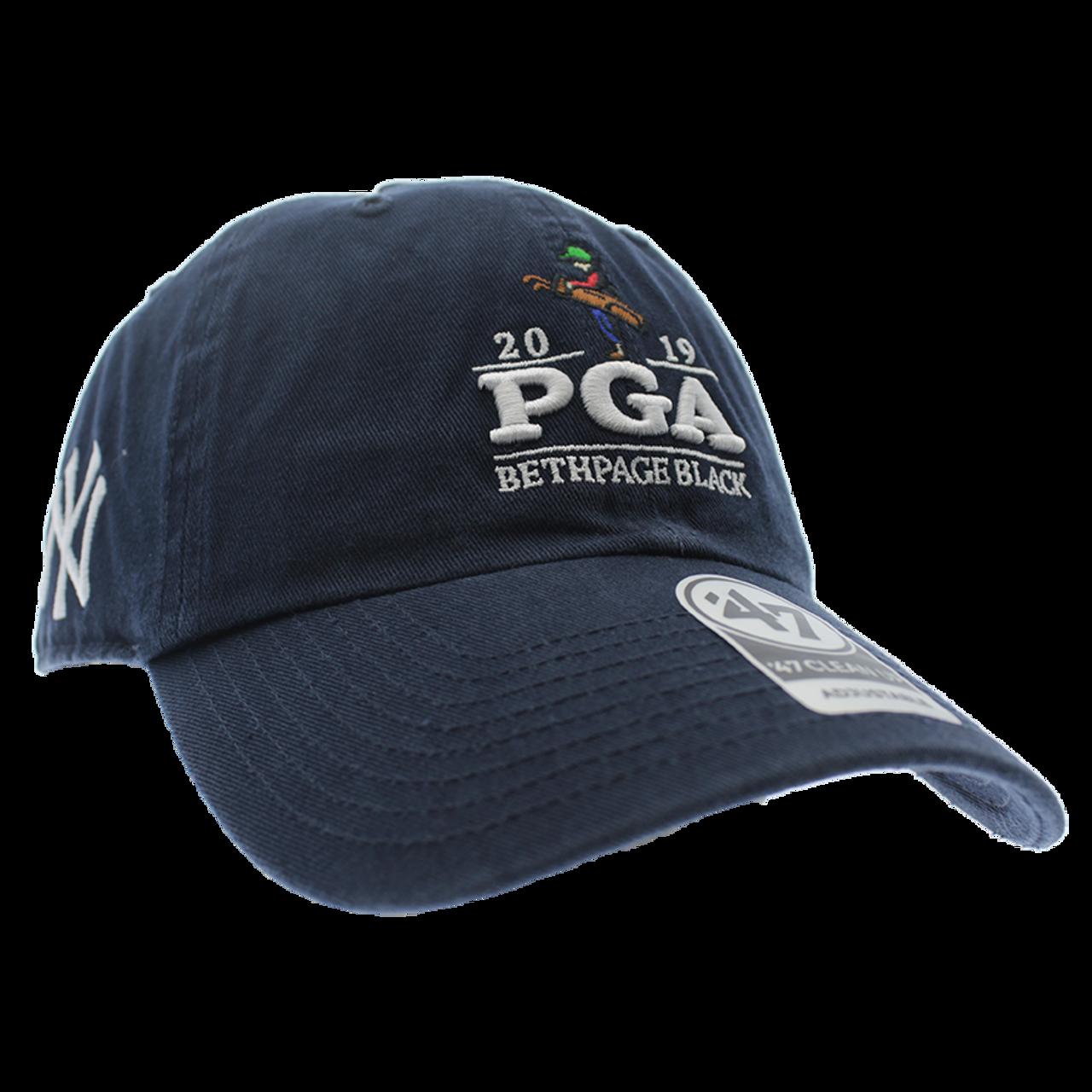 ea9b8c32 New York Yankees & 2019 PGA Navy Baseball Cap- 47' Brand