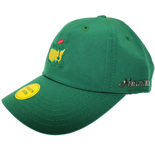Masters Youth Performance Hat - Green c9991c6023a5