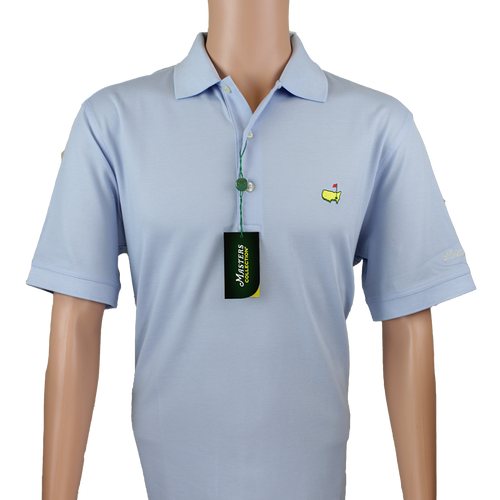 e9fb3e029 Masters Polo Shirt -Light Blue- 100% Pima Cotton