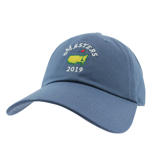 36393732182 Masters 2019 Dated Caddy Hat- Breaker Blue