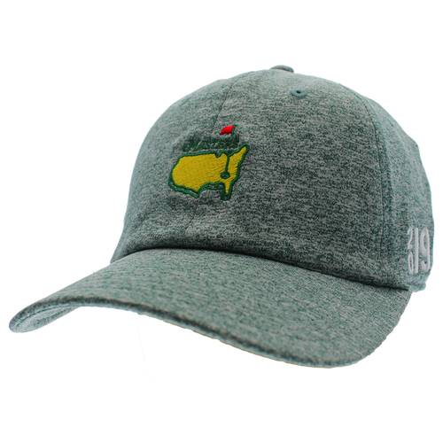 8868917993630 2019 Masters Heather Green Performance Tech Hat