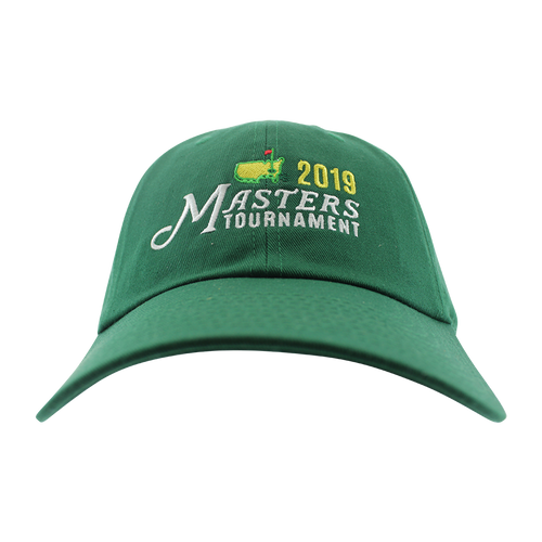 8e01dad4 2019 Masters Green Alternate Logo Caddy Hat