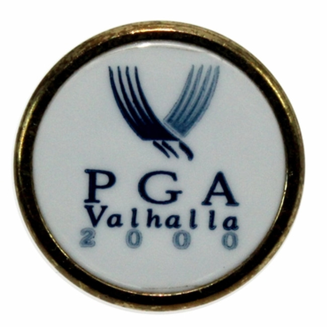 2000 PGA Ball Marker With Stem - Valhalla