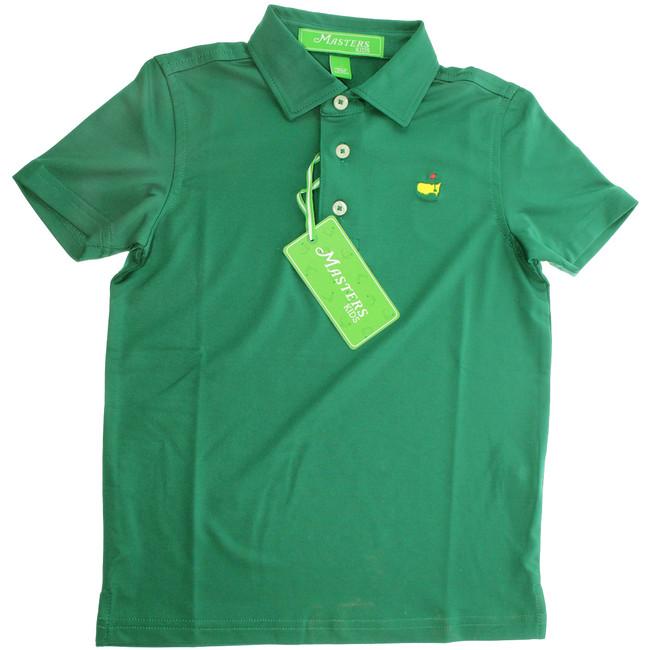 Masters Youth Performance Tech Golf Shirt