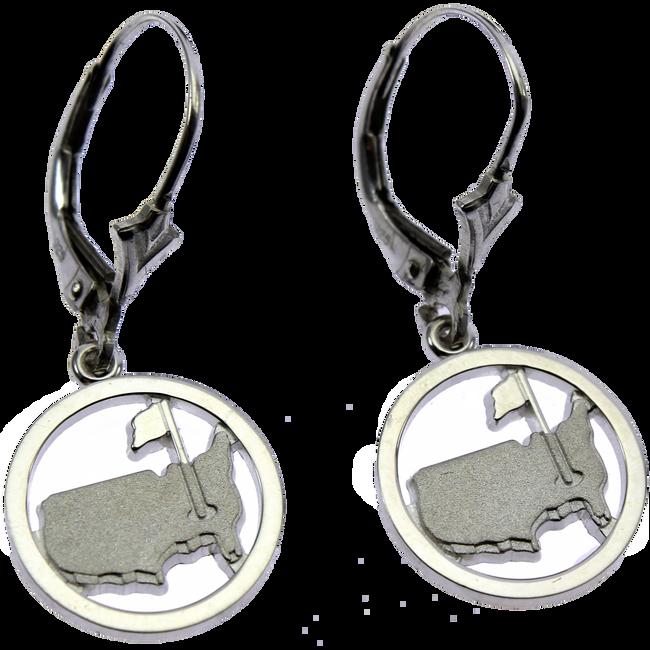 Masters Silver Earrings