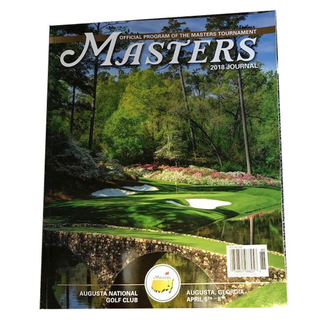 2018 Masters Journal - In Stock, Shipping Today!