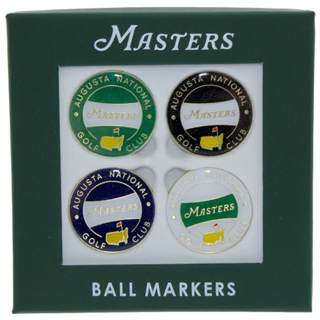 2018 Masters 4 Pack Ball Markers