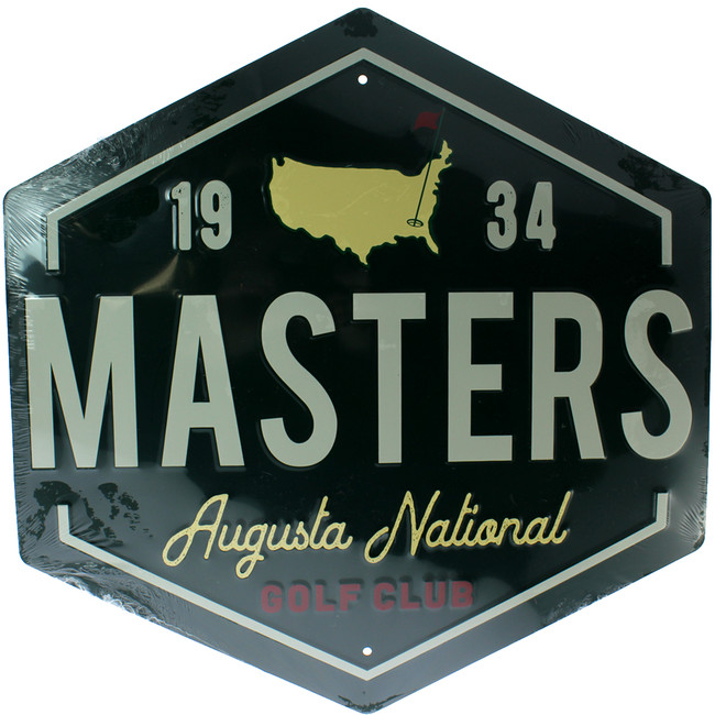 Masters Wall D̩cor - Green Metal Sign