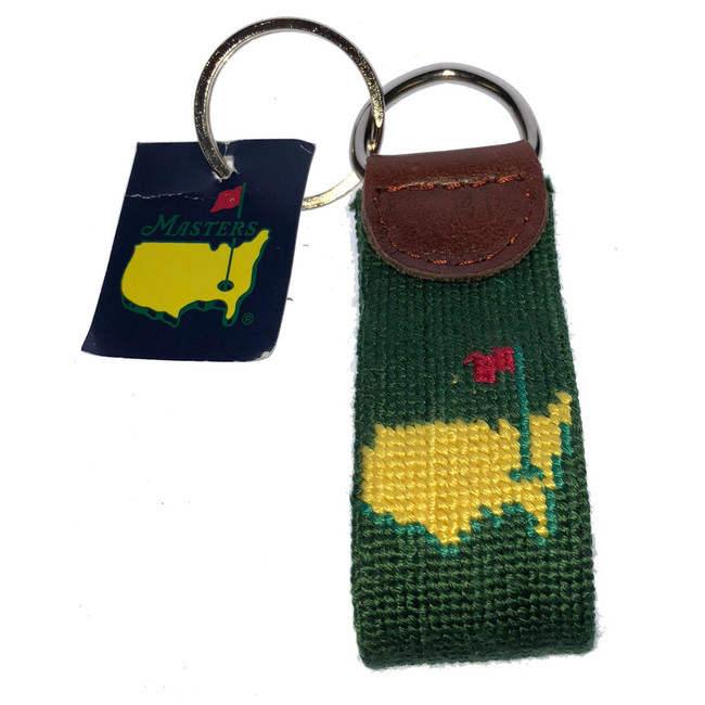 Masters Green Smathers & Branson Leather Key Fob