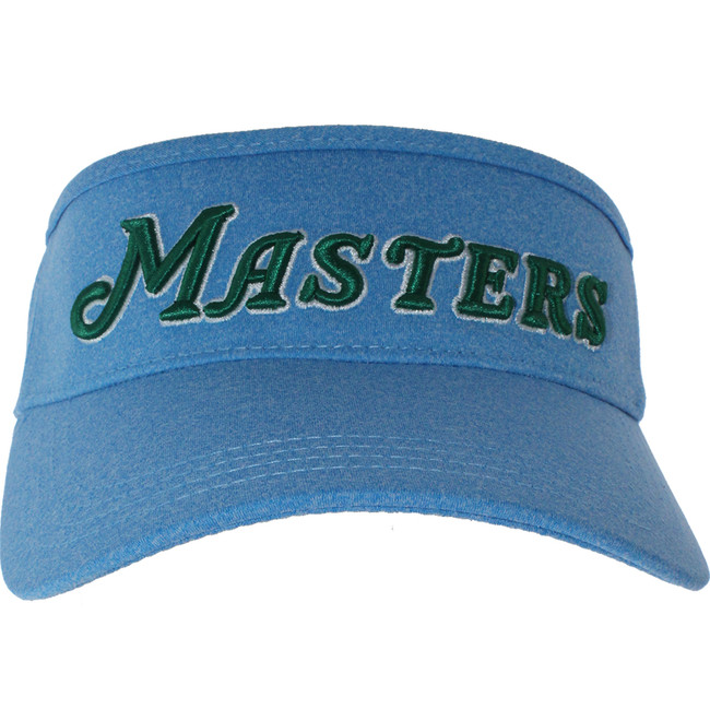 Masters Performance Tech Script Blue Tech Visor